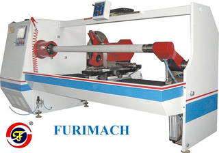 FR-1300A Single Shaft Auto Roll Cutting Machine