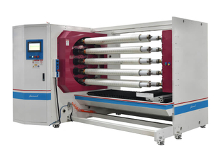 FCG 10-shaft Adhesive Tape Roll Cutting Machine