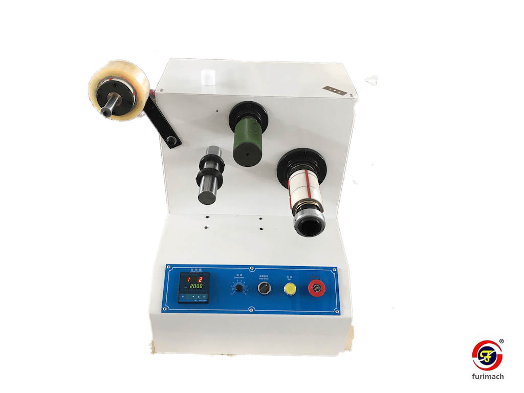 BSR-C Mini Bopp Tape Rewinding Machine