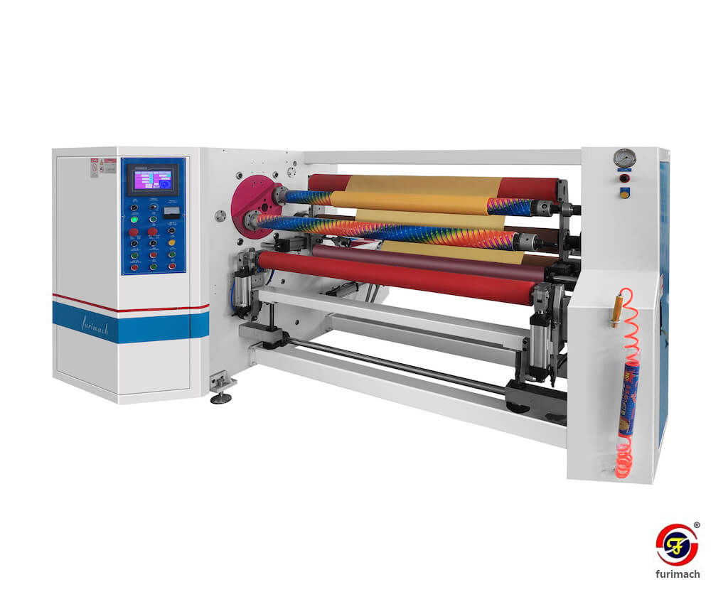 RED-S Double-shaft Automatic Tape Rewinding Machine
