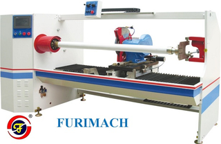 FR-1300C Single Shaft Auto Roll Cutting Machine