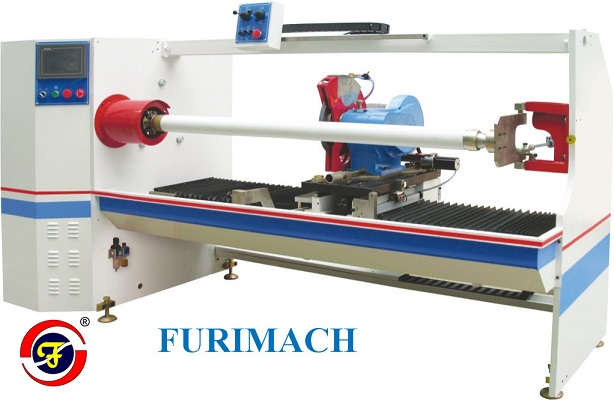 FCC Single Shaft Automatic Tape Slicing Machine