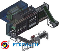 BFA-16 Fully Automatic Adhesive Tape Slitter Rewinder