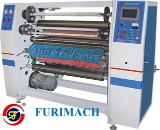 FR-215 Air Blade BOPP Stationery Tape Slitting Machine